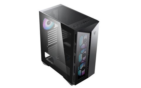 MSI MPG Gungnir 110R (G110R) Mid Tower Gaming Computer Case - Black