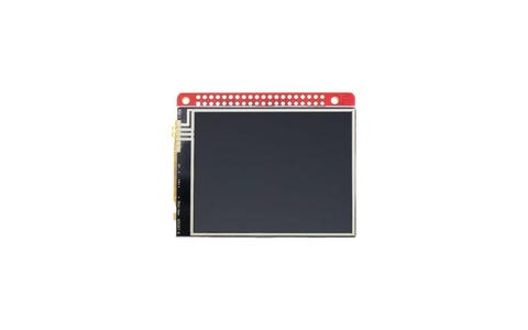 "Watterott 2.8"" RPi Display with Touch Screen for Raspberry Pi Model A+, B+ & 2B"
