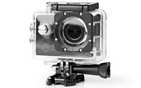 Nedis Action Cam Ultra HD 4K WiFi Waterproof Case Full Mounting Kit
