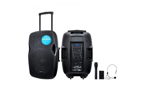 """Kam Portable 15"""" Active Speaker with Bluetooth - 1000W"""