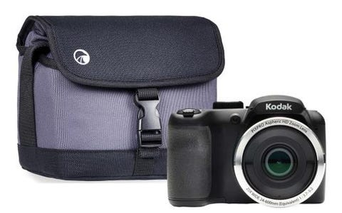 Kodak PIXPRO AZ252 16MP 25x Zoom Bridge Camera with Protective Case