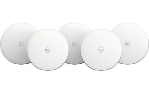 BT Mini Whole Home WiFi System - 5 Pack