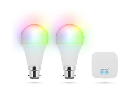 Smartwares Smarthome Pro Smart LED Bulb Twin Pack - Variable Colour