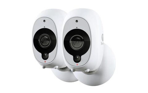 Swann Smart Wireless Full HD Security Camera (Pack of 2) - White