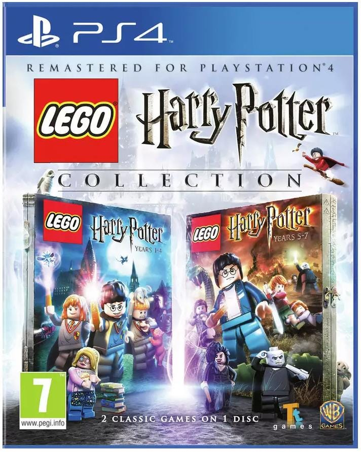 Sony PlayStation 4 LEGO Harry Potter Game Collection