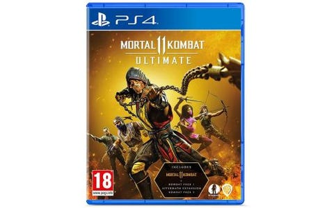 Sony PlayStation 4 Mortal Kombat 11 Ultimate Game
