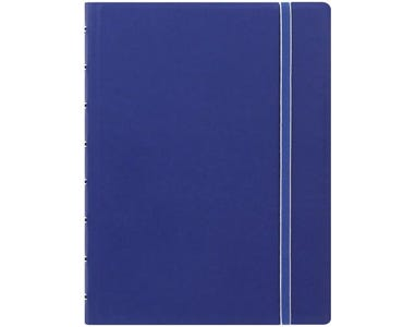 Filofax A5 Refillable Notebook Classic Ruled - Blue