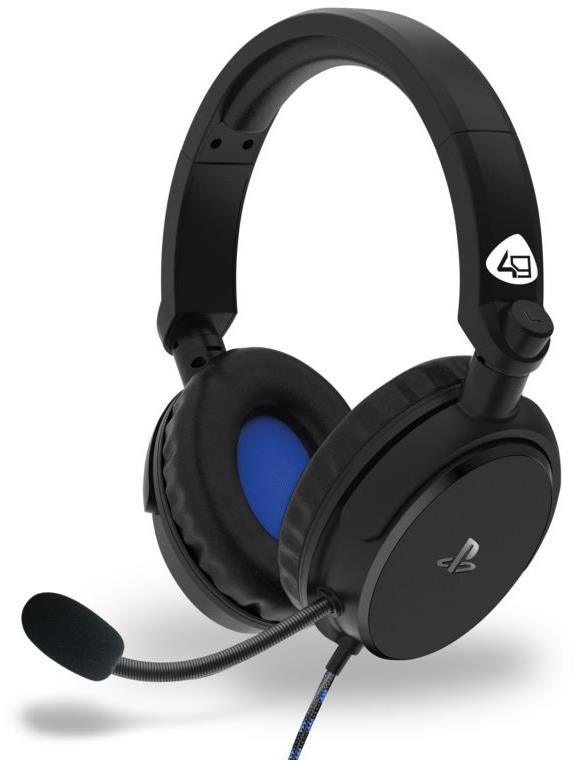 4Gamers PRO4-50s Officially Licensed PS4 Stereo Gaming Headset - Black