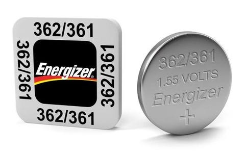 Energizer SR58/S40 362/361 Silver Oxide Coin Button Cell Battery
