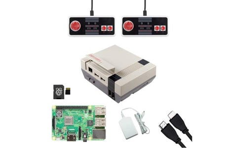 Pi Supply Ultimate NESPi Raspberry Pi Game Bundle with NES Classic USB Gamepads