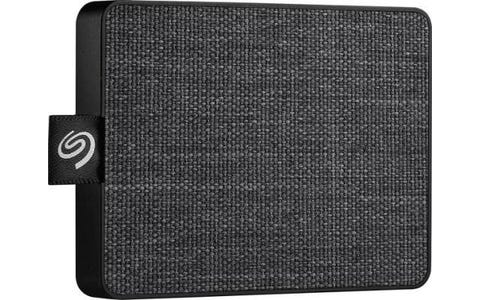 Seagate One Touch Portable 500 GB External SSD - Black
