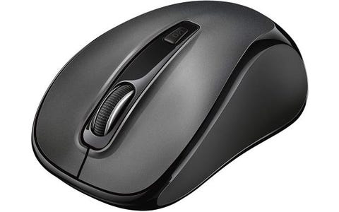 Trust Siero Optical Wireless USB Silent Mouse for Computer and Laptop, 1000-2400 DPI - Black