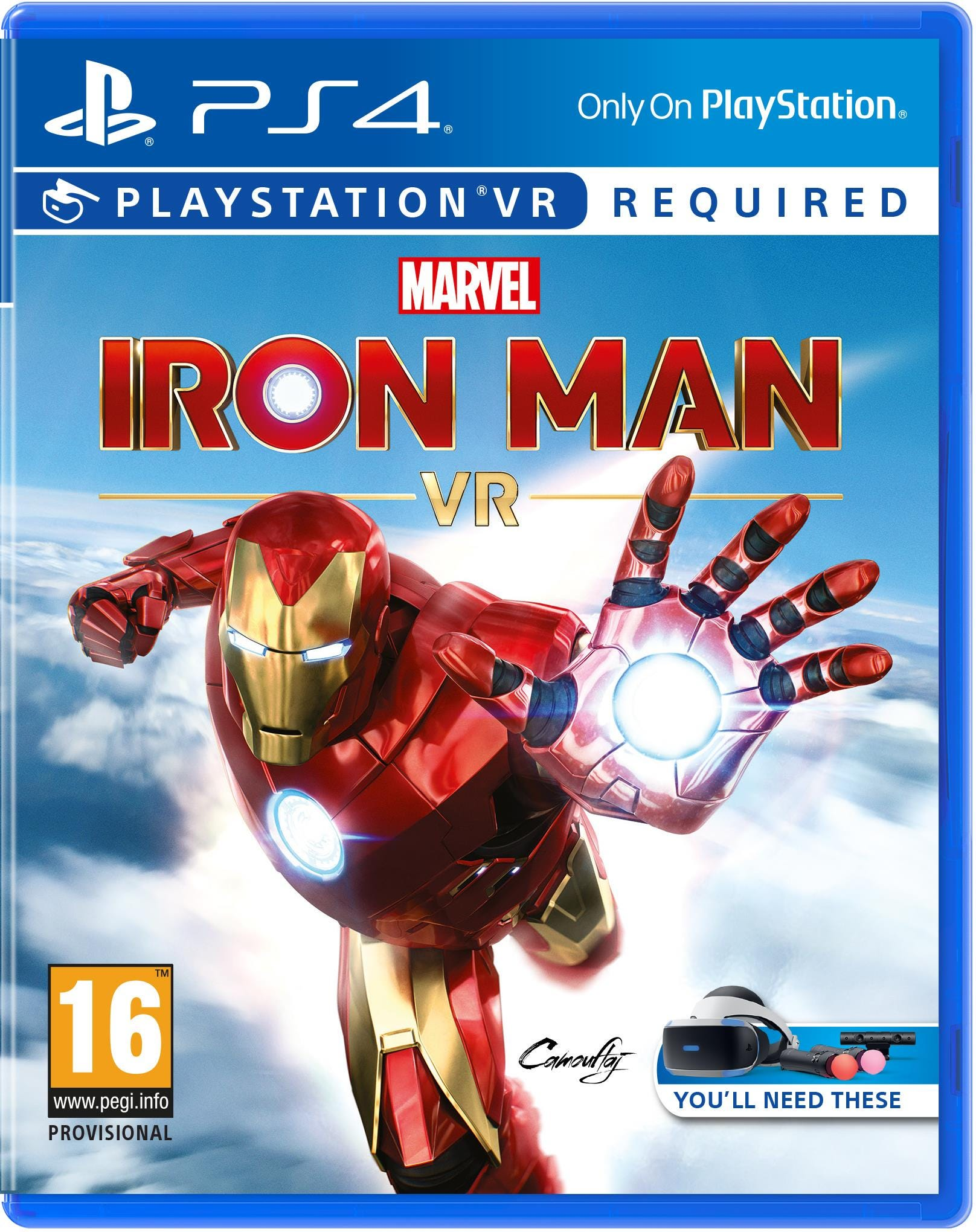 Sony PlayStation 4 Marvel's Iron Man VR Game