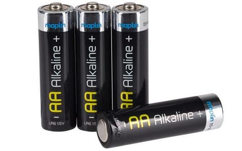 Maplin Extra Long Life High Performance Alkaline AA Batteries (Box of 100)