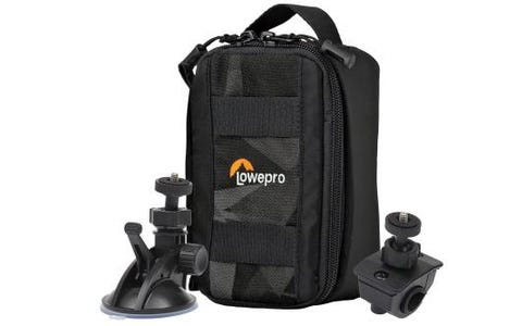 Lowepro ViewPoint CS 40 Action Cam Case + FREE Suction Mount & Cycle Mount