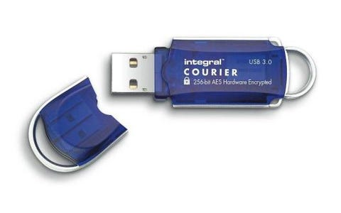 Integral 64GB Courier AES USB 3.0 Flash Drive
