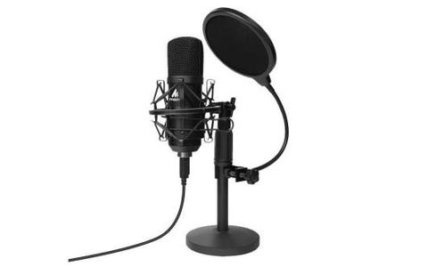 Maono USB Podcasting Microphone with Microphone Stand Kit
