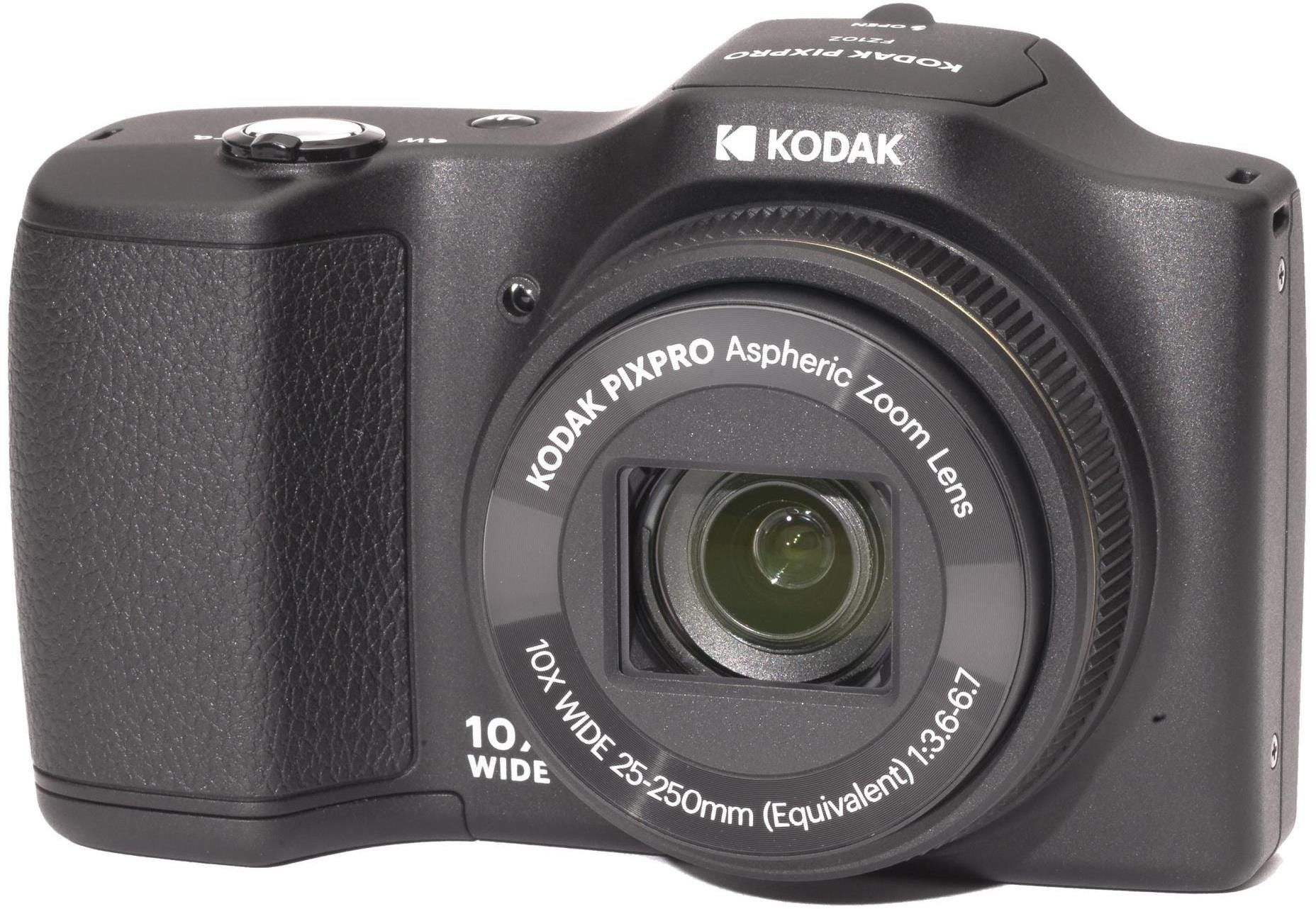 Kodak PIXPRO FZ102 16MP 10x Zoom Bridge Camera - Black