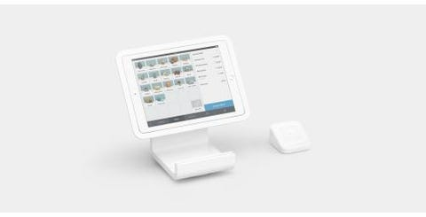 Square Stand Bundle Including Square Reader & Square Dock - White