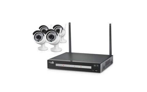 HomeGuard (1TB) 8 Channel Wireless NVR with 4 x 960p CCTV Cameras Kit