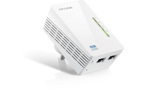 TP-Link TL-WPA4220 600 Single-Band Powerline Adapter - White