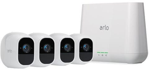Arlo Pro 2 Wi-Fi Smart Security System 4 HD Camera