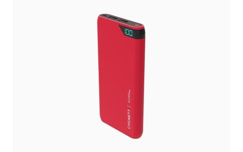 Cygnett ChargeUp Boost -10000 mAh Dual USB 2.4A Powerbank Red
