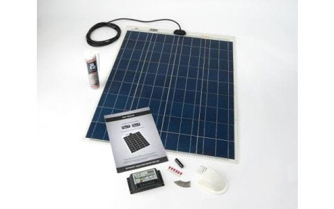 PV Logic 80wp Roof / Deck Top Kit