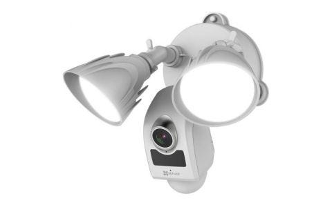 EZVIZ LC1 1080P Floodlight Camera with Built-in Alarm System