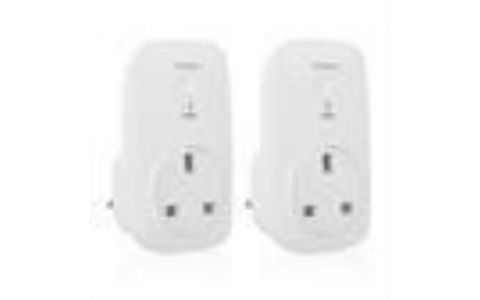 Smartwares Smarthome PRO Twin Pack Additional Smartplugs (EXCLUDING LINK)