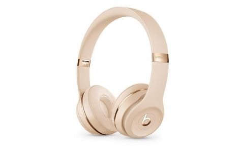 Beats Solo 3 Wireless Over-Ear Headphones - Satin Gold