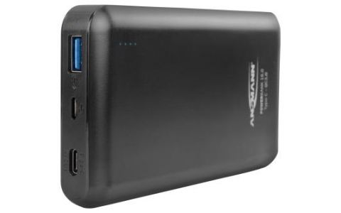 Ansmann Powerbank 15.8 15000mAh Type C + Quick Charge 3.0 - Black