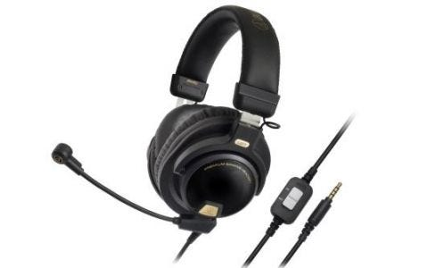 Audio-Technica ATH-PG1 Premium Closed-Back Gaming Headset with removable Mic