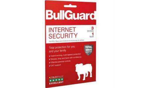 Bullguard Internet Security 2019 Retail 3 User Multi Device - 1 Year