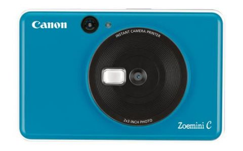 Canon Zoemini C Pocket Size 2-in-1 Instant Camera Printer Seaside Blue