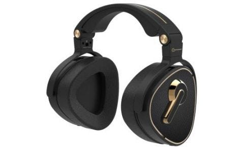Crosszone CZ-1 Stereo Over-Ear Headphones - Black