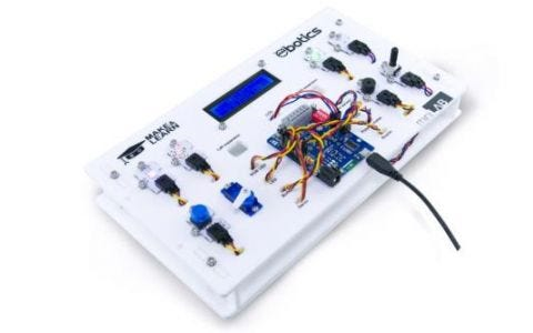 Ebotics Mini Lab Electronic and Programming Kit with Multiple Components