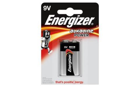 Energizer Alkaline Power 9V Battery