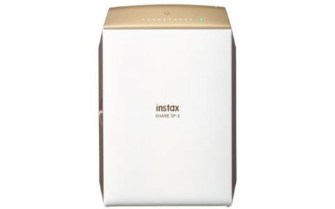 Fujifilm Instax SP-2 Share Smartphone Printer Gold inc 10 Shots