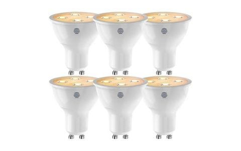 Hive GU10 Dimmable LED Smart Bulbs - 6 Pack -  Warm White