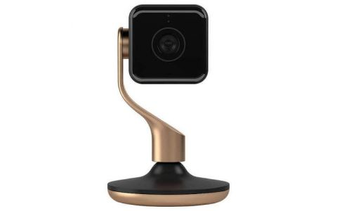 Hive View Smart Camera - Black & Brushed Copper
