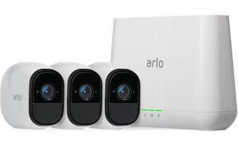 ARLO Pro 2 3-Camera Security System with Inbuilt Alarm Siren