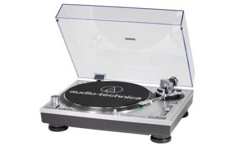 Audio-Technica AT-LP120-USBHC Professional Direct-Drive Turntable Silver