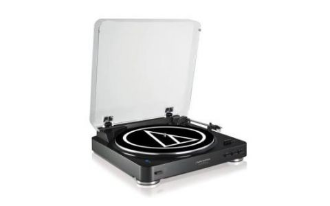 Audio-Technica AT-LP60BKBT Automatic Wireless Turntable - Black