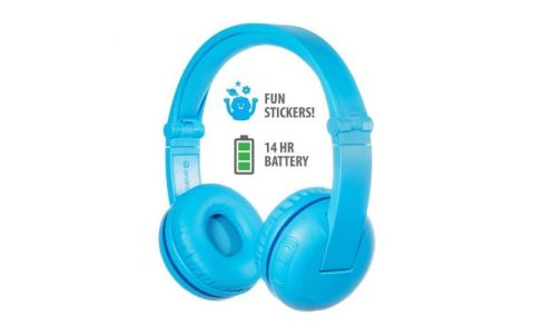 BuddyPhones Play Wireless Headphones - Glacier Blue