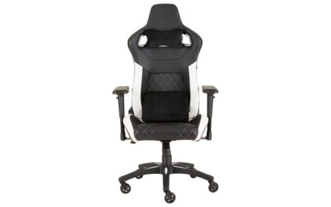 Corsair T1 Race 2018 Gaming Chair - Black/White