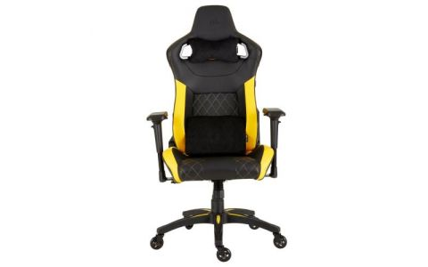 Corsair T1 Race 2018 Gaming Chair - Black/Yellow