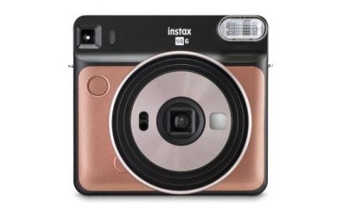 Fujifilm Instax Square SQ6 Instant Camera Blush Gold + 30 Shots