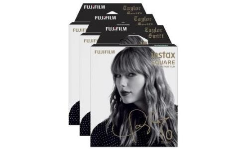 Fujifilm Instax Square Instant Film Pack- Taylor Swift Edition - 30 Sheets