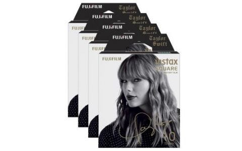 Fujifilm Instax Square Instant Film Pack - Taylor Swift Edition  - 40 Sheets